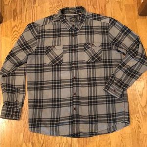 Quicksilver waterman collection flannel